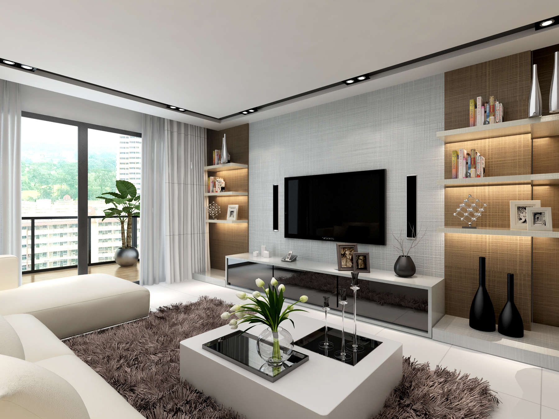 Make a statement with these 4 laminate friendly feature - Feature wall living room ...