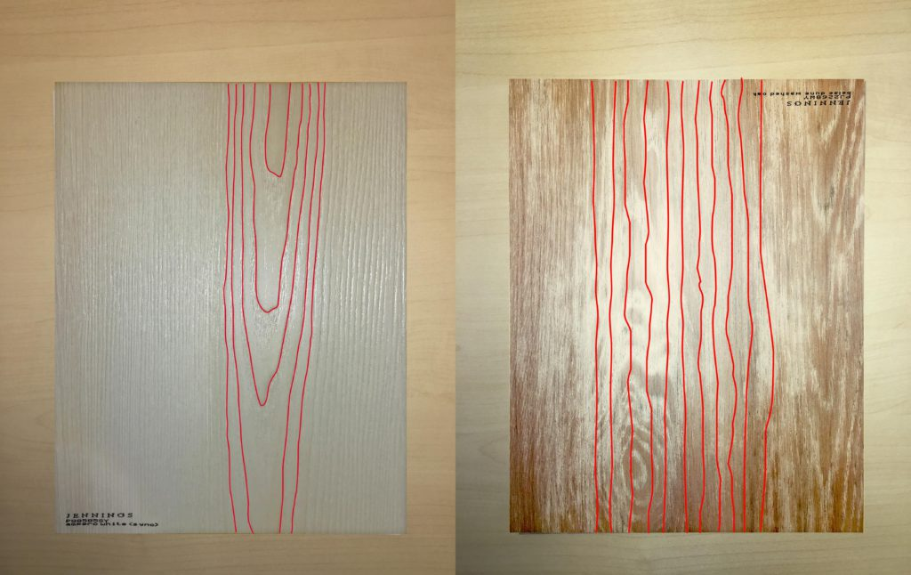 Synchronized vs non-synchronized laminate