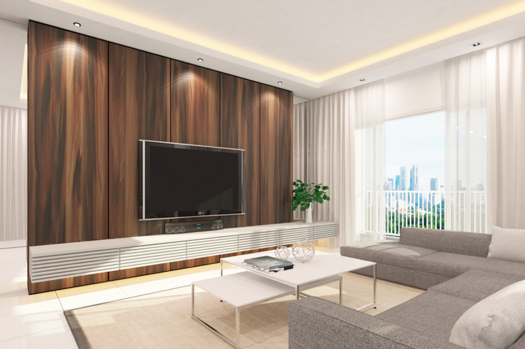 Discover how feature walls can turn any room into a - Feature wall living room ...